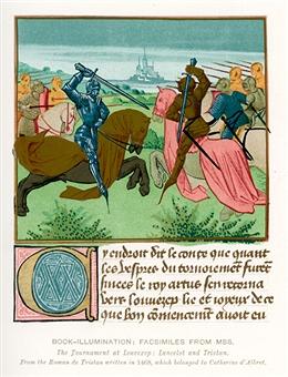 Na lenda, Guinevere trai o Rei Arthur com Sir Lancelot, um amor impossível.