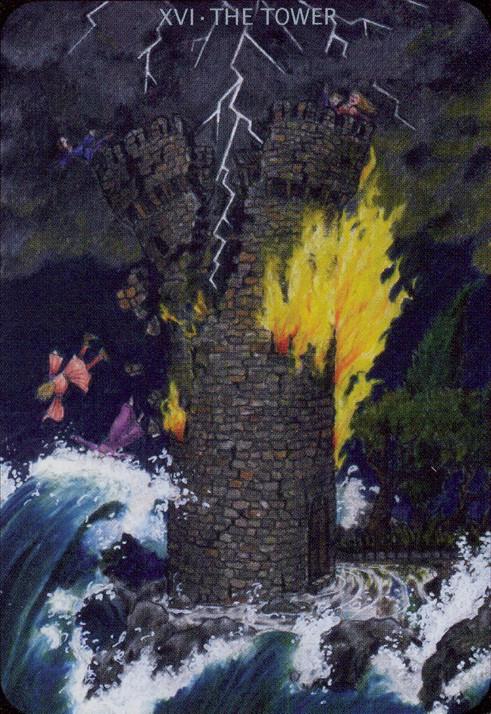 Torre - Anna K Tarot