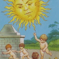 Lenormand-Tarot_-_XVIIII_-_Die_Sonne
