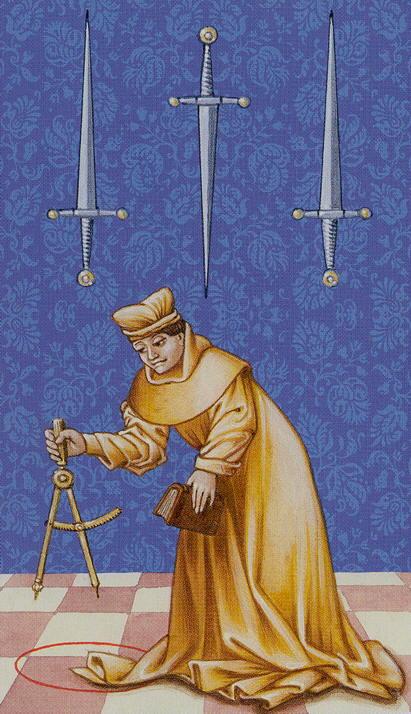 O 3 de Espadas representa no Tarô as críticas duras.