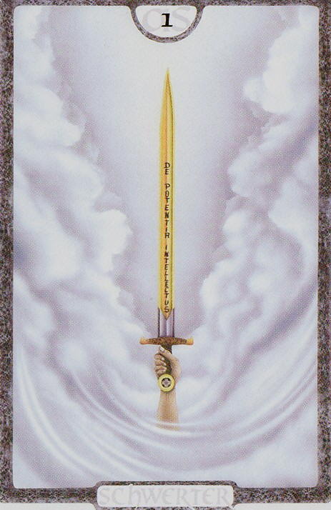 Ás de Espadas - Traumzeit Tarot