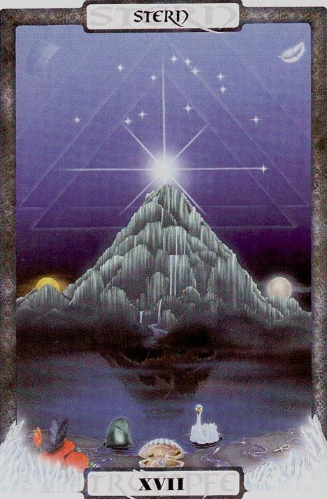 A Estrela nos ajuda a ter humildade - Traumzeit Tarot