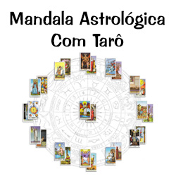 Mandala Astrológica com Tarô